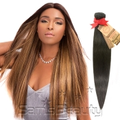 Aliba Unprocessed Brazilian Virgin Remy Human Hair Weave Natural Straight