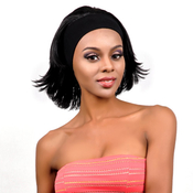 Fashion Design Synthetic Hair Wig Love Touch Collection Head Band Flip
