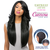 Sensationnel Synthetic Lace Front Wig Empress Edge Custom Lace Perm Wedge