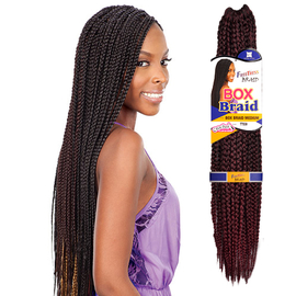 Crochet Box Braids Medium : ... Synthetic Hair Crochet Braid Medium Box Braids 20 - SamsBeauty