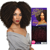 Outre Human Hair Blend Weave Premium Purple Pack 1 Pack Solution Big Beautiful Hair 4AKinky