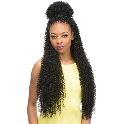 Crochet Braids Outre : Outre Synthetic Hair Crochet Braids X-Pression Braid Jerry Curl 24 ...