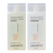 Giovanni 50:50 Balanced HydratingCalming ShampooConditioner 2oz