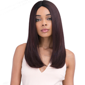 Janet Collection Synthetic Hair Wig Kiss Part Shell