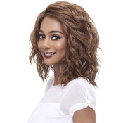 Vivica Fox Synthetic Hair Lace Front Wig Deep Swiss Lace Finn