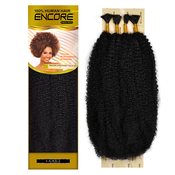 Janet Collection Human Hair Blend Braids Encore Afro kinky Bulk 24