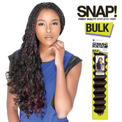 Sensationnel Synthetic Hair Braids Snap Candy Curl Bulk 24