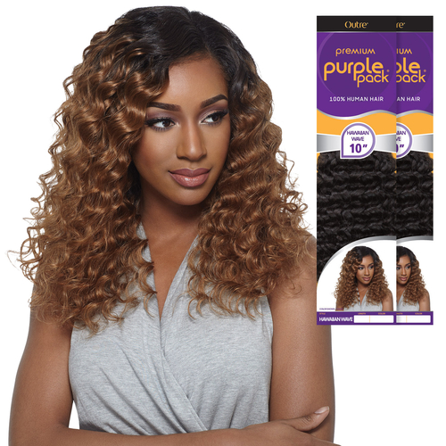 Purple pack samsbeauty outre human hair weave premium purple pack hawaiian wave pmusecretfo Images