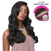 Sensationnel Human Hair Blend Hand Tied Full Lace Wig Cloud 9 Body Wave 22