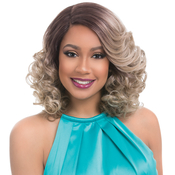 Sensationnel Synthetic Lace Front Wig Empress Edge Natural Curved Part Lawanda