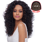 Harlem125 Synthetic Hair Lace Front Wig 4X4 Swiss Silk Base FLS09