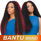Sensationnel Synthetic Hair Crochet Braids African Collection Bantu Braid 40