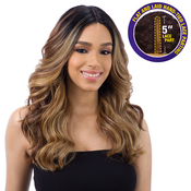 FreeTress Equal Synthetic Hair Wig Lace 5 Deep Part Lace Valentino
