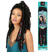 Bobbi Boss Synthetic Hair Crochet Braids African Roots Braid Collection Bae Locs 20