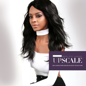 UpScale 100 Unprocessed Brazilian Virgin Remy Human Hair Lace Front Wig Natural Wave 20