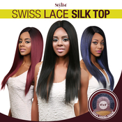 The Stylist Synthetic Lace Front Wig 4x4 Swiss Lace Silk Top Straight Affair
