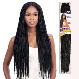 Freetress Synthetic Hair Crochet Braids Long Large Box Braid 24