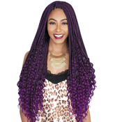 Royal Zury Synthetic Hair Crochet Braids Goddess Loc Deep Curl