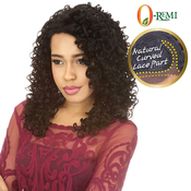 ORemi Brazilian Virgin Remy Human Hair Lace Wig Natural Curved Lace Part  BVWC24
