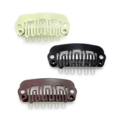 23mm Small Snap Comb Wig Clip 12 Pcs