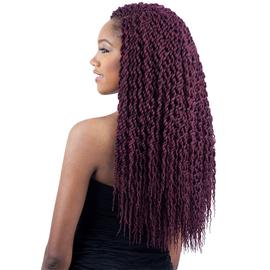 Freetress Synthetic Hair Crochet Braids Senegal Twist Curly Samsbeauty Color Shown 99j