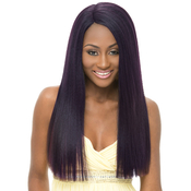 Janet Collection Synthetic Lace Front Wig Natural Super Flow Invisible Deep Part Lace Sosie