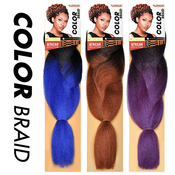Sensationnel Synthetic Hair Braids African Collection Color Braid Jumbo Braid