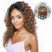 ISIS Human Hair Blend Lace Front Wig Brown Sugar 13X4 Frontal Lace BSF02
