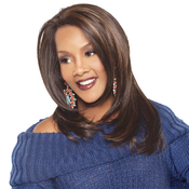 Vivica Fox Synthetic Lace Front Wig Air Capless ACCheryl CelineV Style