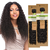 Sensationnel Unprocessed Peruvian Virgin Remy Human Hair Weave Bare AMP; Natural French Curl