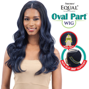 FreeTress Equal Synthetic Hair Wig Oval Part Wig Body Wave