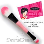 Ms Makeup Hide AMP; Go Chic Foundation AMP; Concealer Brush