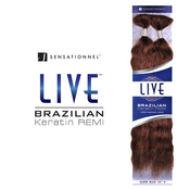 Sensationnel Remy Human Hair Braids Live Brazilian Keratin Remi Wet AMP; Wavy Super Bulk