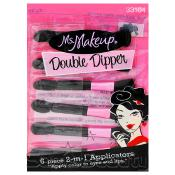 Ms Makeup Double Dipper 6 Pcs 2in1 Applicators