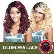 ISIS Human Hair Blend Lace Front Wig Brown Sugar Glueless Lace BSG207 Melrose