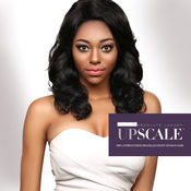 UpScale 100 Unprocessed Brazilian Virgin Remy Human Hair Lace Front Wig Natural Loose Curl