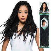 Bobbi Boss Synthetic Hair Crochet Braids African Roots Braid Collection Nu Locs 18