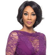 Vivica Fox Natural Virgin Remy Human Hair Wig Swiss Silky Soft Lace Invisible Lace Part Kaia