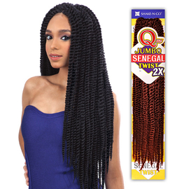 Crochet Braids Jumbo : Milky Way Synthetic Hair Crochet Braids Que 2X Jumbo Senegal Twist ...