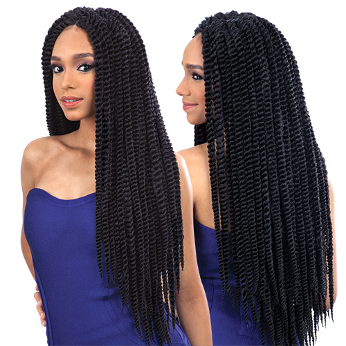 Crochet Hair Jumbo Twist : ... Synthetic Hair Crochet Braids Que 2X Jumbo Senegal Twist - SamsBeauty