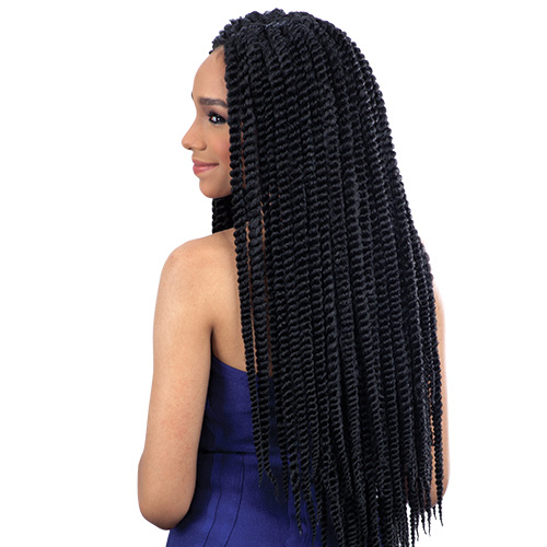 Milky Way Synthetic Hair Crochet Braids Que 2X Jumbo Senegal Twist ...