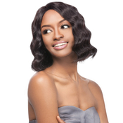 OUTRE Simply NonProcessed Human Hair Lace Front Wig Brazilian Natural Deep Bob