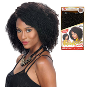 Royal Zury Human Hair Weave Clip On 9Pcs 4B Kinky