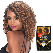 Royal Zury Synthetic Hair Crochet Braids V8910 GoGo Curl 1Pack Enough