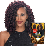 Royal Zury Synthetic Hair Crochet Braids V8910 Rod Set 1Pack Enough