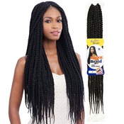 FreeTress Synthetic Hair Crochet Braid Large Dookie Braids Box Braids