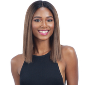 Milky Way Human Hair Blend Lace Front Wig Harmony 115