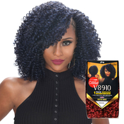 Royal Zury Synthetic Hair Crochet Braids V8910 Water Wave 1Pack Enough