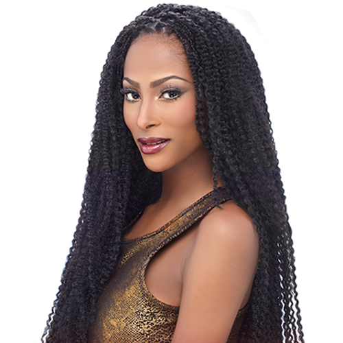 Harlem125 Synthetic Hair Crochet Braids Kima Braid Afro Temptation 24 ...