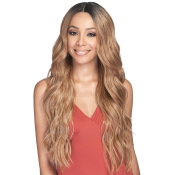 Bobbi Boss Human Hair Blend Lace Front Wig 5 Deep Lace Parting MBLF210 Mora